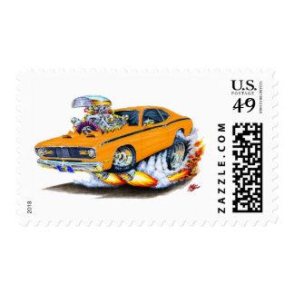 Coche 1970-74 del naranja del plumero de Plymouth Envio