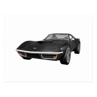 Coche 1970 de deportes del Corvette: Acabado en Tarjetas Postales
