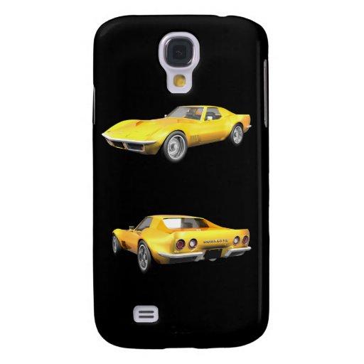 Coche 1970 de deportes del Corvette: caso del iPho