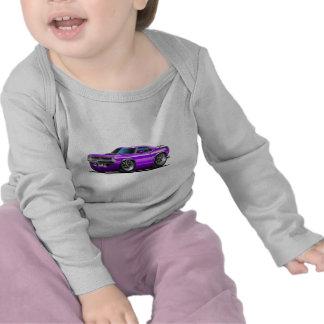 Coche 1970 de la púrpura de Plymouth Cuda Camisetas