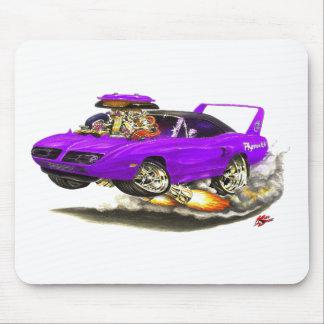 Coche 1970 de la púrpura de Superbird Alfombrillas De Raton