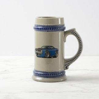 Coche 1970 del azul de Cuda AAR Jarra De Cerveza