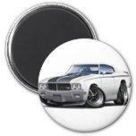 Coche 1970 del blanco de Buick GSX Iman De Frigorífico