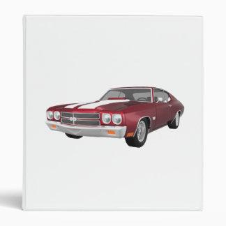 "Coche 1970 del músculo de Chevelle: Caramelo Carpeta 1"""