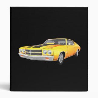 """Coche 1970 del músculo de Chevelle: Final Carpeta 1"""""""
