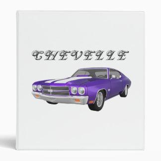 "Coche 1970 del músculo de Chevelle: Final púrpura: Carpeta 1"""