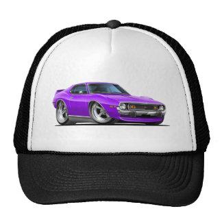 Coche 1971-72 de la púrpura de la jabalina gorras de camionero