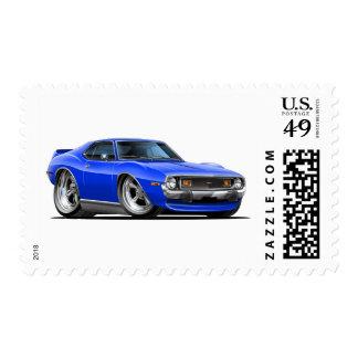Coche 1971-72 del azul de la jabalina envio