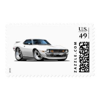 Coche 1971-72 del blanco de la jabalina sello