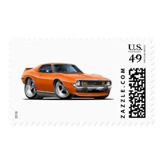 Coche 1971-72 del naranja de la jabalina envio