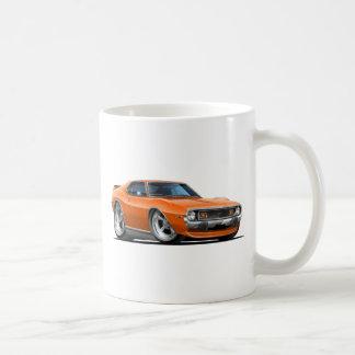 Coche 1971-72 del naranja de la jabalina taza de café