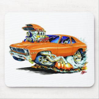 Coche 1971-74 del naranja de Nova Tapete De Ratones
