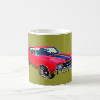 Coche 1971 del músculo de Chevrolet Chevelle SS Taza De Café