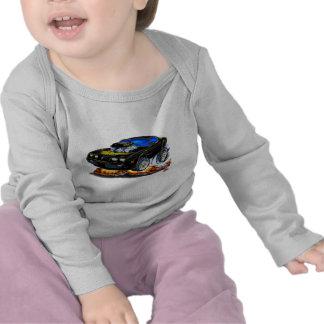 Coche 1979-81 del Negro-Oro del transporte Camisetas