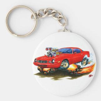 Coche 1979-81 del rojo de Camaro Llavero