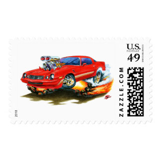 Coche 1979-81 del rojo de Camaro Z28 Sellos