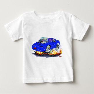 Coche 1982-92 del azul del transporte playera de bebé