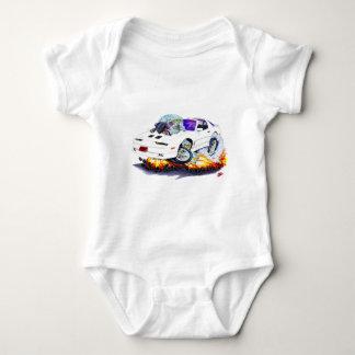 Coche 1982-92 del blanco del transporte mameluco de bebé