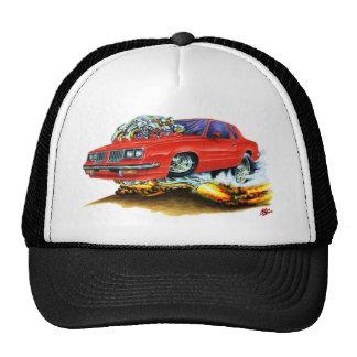 Coche 1983-88 del rojo del machete gorras