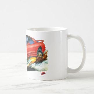 Coche 1993-97 del rojo del transporte taza
