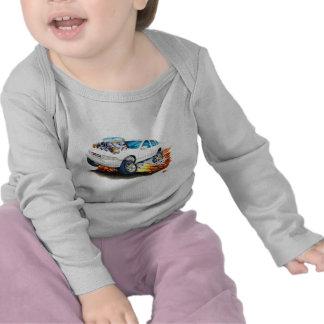 Coche 1994-96 del blanco del impala camisetas