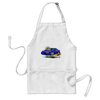Coche 1998-02 del azul de Camaro Delantal