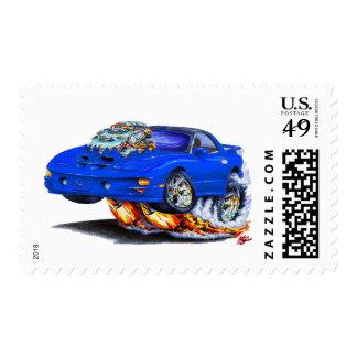 Coche 1998-02 del azul del transporte de Firebird