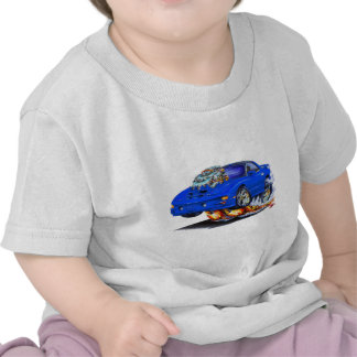 Coche 1998-02 del azul del transporte de Firebird Camiseta