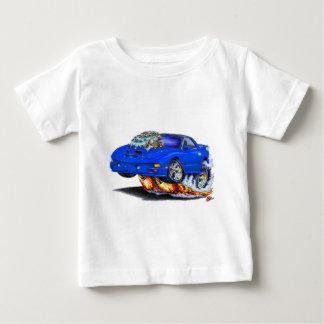 Coche 1998-02 del azul del transporte de Firebird Playera De Bebé