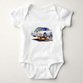 Coche 1998-02 del blanco del transporte de body para bebé