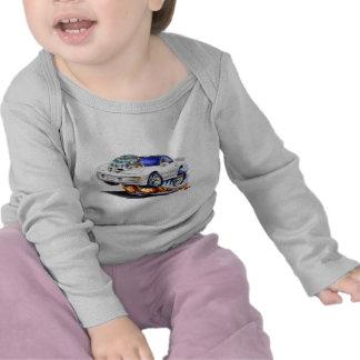 Coche 1998-02 del blanco del transporte de camisetas