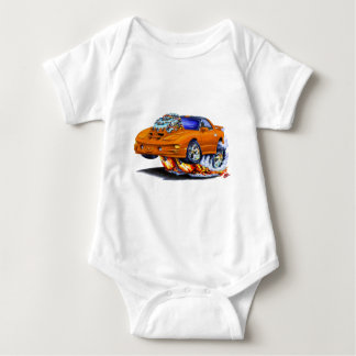 Coche 1998-02 del naranja del transporte de body para bebé