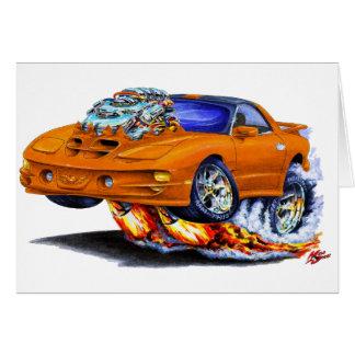 Coche 1998-02 del naranja del transporte de Firebi Tarjeta