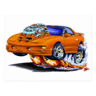 Coche 1998-02 del naranja del transporte de Firebi Tarjetas Postales
