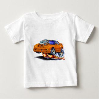 Coche 1998-02 del naranja del transporte de playera de bebé