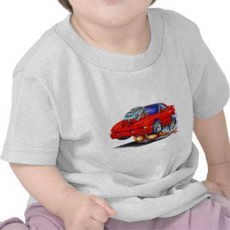 Coche 1998-02 del rojo del transporte de Firebird Camiseta