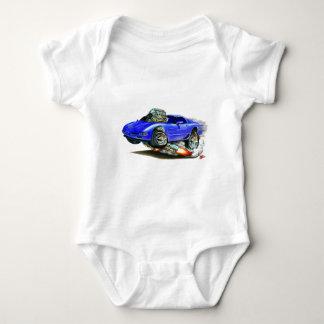 Coche 1998-2004 del azul del Corvette Polera