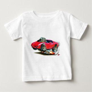 Coche 1998-2004 del rojo del Corvette Poleras