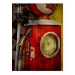 Coche - 19 galones tarjetas postales