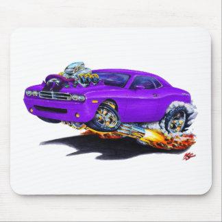 Coche 2008-10 de la púrpura del desafiador mouse pad