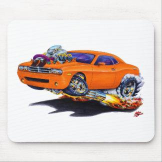 Coche 2008-10 del naranja del desafiador mousepad