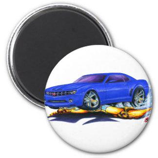 Coche 2010 del azul de Camaro Imán Redondo 5 Cm