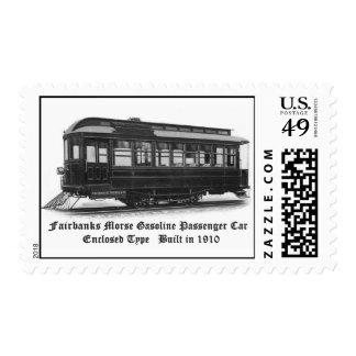 Coche #24 de Fairbanks Morse & Company Timbre Postal