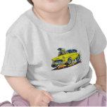 Coche amarillo 1955 de Chevy Belair Camiseta