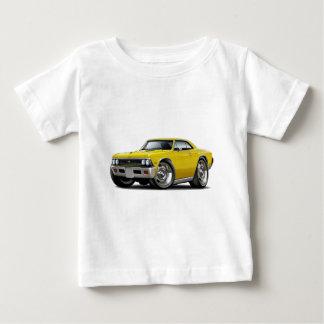 Coche amarillo 1966 de Chevelle Playera De Bebé