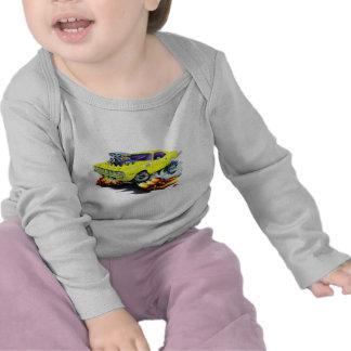Coche amarillo 1971-73 de Cuda Camiseta