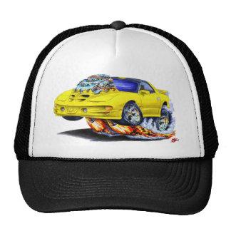 Coche amarillo 1998-02 del transporte gorra