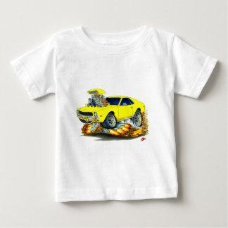 Coche amarillo de AMX Playera De Bebé