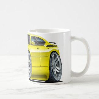 Coche amarillo de Daytona del cargador de Dodge Taza