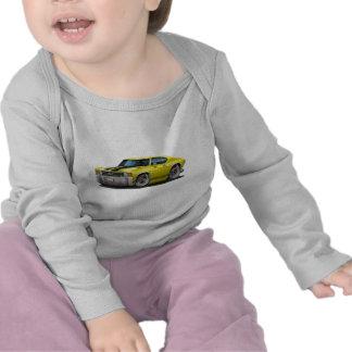 Coche Amarillo-Negro 1971-72 de Chevelle Camisetas